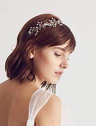 cheap -Crystal / Alloy Headbands with Crystal / Sparkling Glitter / Glitter 1pc Wedding / Birthday Headpiece