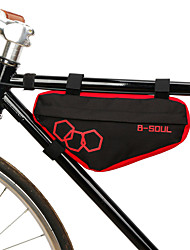 cheap -Bike Frame Bag Top Tube Cycling Wearable Durable Bike Bag Polyester Bicycle Bag Cycle Bag Cycling Outdoor Exercise Multisport