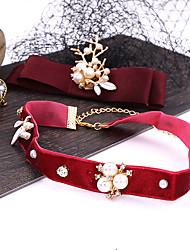 cheap -Alloy Hair Accessory with Rhinestone / Glitter 4 Pieces Wedding Headpiece