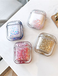 cheap -Colorful Quicksand Glitter Storage Airpods 1 2 Headphones Protective Case Wireless Bluetooth Earphone Case Cover