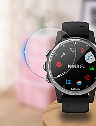 cheap -Smart watch Screen Protector for Fenix 6 Pro Garmin Tempered Glass High Definition (HD)  Anti Scratch Bubble Free Clear Film 1 pc