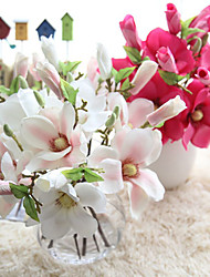cheap -Artificial Flower Small Fresh Magnolia Flower Arrangement Home Decoration Wedding 1 Stick
