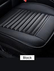 cheap -Car Front Seat Cover PU Non-slip Car Seat Cushion Cover Auto Chair Cushion PU Leather Pad Breathable Car Front Seat Cover for Four Seasons
