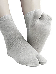 cheap -1 Pair Unisex Socks Standard Solid Colored Warm Simple Style Polyester EU36-EU42