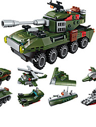 cheap -Building Blocks Military Blocks Educational Toy Model Building Kit Construction Set Toys Tank Soldier compatible Plastic Legoing Boys' Girls' Toy Gift / Kid's