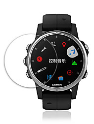 cheap -Smart watch Screen Protector for Fenix 6 Garmin Tempered Glass High Definition (HD)  Anti Scratch Bubble Free Clear Film 1 pc