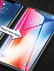 cheap -Apple X Tempered Film Full Screen Cover Iphone 11 Pro HD Transparent Film X Black Edge Tempered Film Hard Film 7 8plus Glass Tempered Film