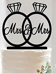 cheap -Cake Topper Acrylic 1 Piece Wedding
