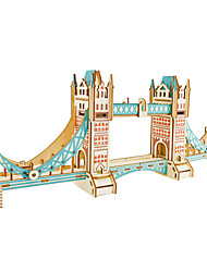 cheap -WAN GE Building Blocks Model Building Kit Famous buildings London Bridge Fun & Whimsical Boys' Girls' Toy Gift / Kid's