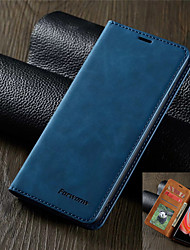 cheap -Luxury Leather Case for Samsung Galaxy S20 S20 Plus S20 Ultra S10 S10E S10 Plus S10 5G S9 S9 Plus A51 A71 A10 A20 A30 A40 A50 A70 A70S A20E A50S A30S M10 Forwenw Leather Case Magnetic Flip