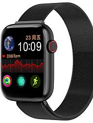 Недорогие -w7m из нержавеющей стали SmartWatch BT поддержка фитнес-трекер уведомить / частота сердечных сокращений / измерения артериального давления для телефонов Apple / Samsung / Android