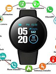 Недорогие -D18 Универсальные Смарт Часы Android iOS Bluetooth Сенсорный экран Пульсомер Спорт ЭКГ + PPG Педометр Напоминание о звонке Датчик для отслеживания сна Сидячий Напоминание