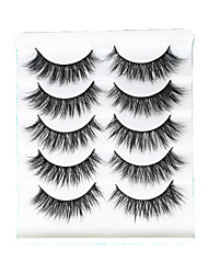 cheap -Eyelash Extensions 1 pcs Best Quality Pro Natural Safety Fiber Date Professioanl Use Full Strip Lashes Natural Long - Makeup Daily Makeup Party Makeup Smokey Makeup Boutique Fashion Cosmetic Grooming
