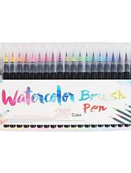 cheap -Watercolor Pen Plastic 1 pcs Classic Elementary