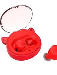 cheap -V18 Wireless Bluetooth Headset Stereo Bluetooth 5.0 Sports Headset TWS Binaural Call Charging Box Intelligent Noise Reduction