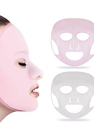 cheap -Full Face Mask / Carrying / Easily Adjustable Makeup 1 pcs Silicon Beauty & Spa / Daily Daily Makeup / Halloween Makeup / Party Makeup Beauty Make face thinner Casual / Daily Cosmetic Grooming