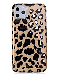 cheap -Leopard Print Case For Apple iPhone 11 / iPhone 11 Pro / iPhone 11 Pro Max Shockproof / Dustproof / Ultra-thin Back Cover Soft TPU