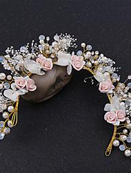 cheap -Alloy Hair Accessory with Rhinestone / Glitter 1 Piece Wedding Headpiece