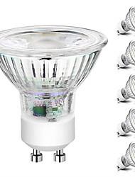 cheap -6pcs Dimmable LED Bulb Spot Light 5W COB GU10 /GU5.3(MR16) led Spotlight 220V for Home Lampada Lamp Glass Shell