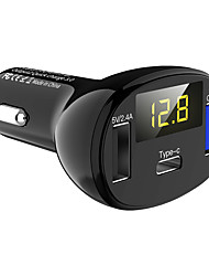 cheap -ZS3C61-LYC02 V4.2 FM Transmitter Multi-Output / QC 3.0 Car