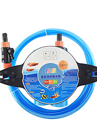cheap -Aquarium Fish Cleaning Tools Fish Bowl Cleaning Care Reusable Easy to Install Plastic 1 pc