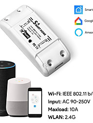 cheap -Wifi wireless remote control switch / phone voice remote control / timed power conversion / smart WiFi switch/Living Room / Study / Bedroom Cool /WIFI Control Wireless 100-240 V