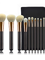cheap -Professional Makeup Brushes 11pcs Professional Cute Full Coverage Adorable Comfy Artificial Fibre Brush Wooden / Bamboo for Eyeliner Brush Blush Brush Foundation Brush Makeup Brush Eyeshadow Brush
