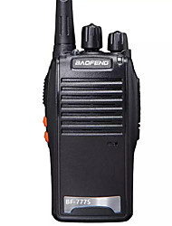 cheap -1PCS Walkie Talkie Baofeng BF-777S 2800mAh 16CH UHF 400-470MHz Baofeng 888S Ham Radio HF Transceiver Amador Portable Intercoms Super Sound Quality