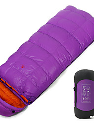 cheap -Jungle King Sleeping Bag Outdoor Camping Envelope / Rectangular Bag -12 °C White Duck Down Lightweight 220*85 cm Autumn / Fall Winter for Camping / Hiking / Caving / 1000