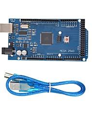 cheap -MEGA 2560 R3 ATmega2560 MEGA2560 Development Board With USB Cable  for Arduino