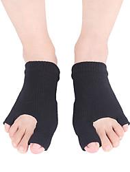 abordables -1 paire Unisexe Chaussettes Standard Couleur Pleine Soulage le Stress Style Simple Spandex EU36-EU42