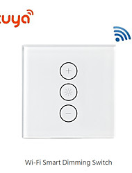 cheap -Smart dimming / switch support / mobile APP remote control / support Alexa voice control / wifi dimming switch for Living Room / Study / Bedroom LED Light / Creative / Wireless use Wireless