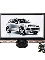 cheap -4.5 inch 1 DIN Car GPS Navigator Touch Screen for universal VGA MicroUSB Support M4A / VGA / MP4 M4A GIF