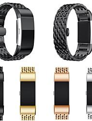Недорогие -ремешок для часов для FitBit заряда 3 FitBit дизайн ювелирных изделий из нержавеющей стали браслет из нержавеющей стали дракон