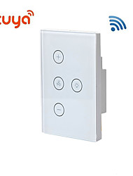 cheap -US regulations / fan light WIFI switch / TUYA Smart / Home remote control support Alexa/Living Room / Study / Bedroom LED Light / Touch Switch / Wireless use Wireless 100-240 V