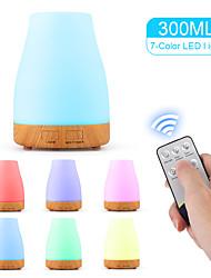 cheap -Aromatherapy humidifier 100ML / colorful LED / aromatherapy lamp / wood grain humidifier / explosive aromatherapy machine/ PP White