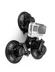 cheap -Suction Cup Damping Fastness Suction Cup Mounts For Action Camera Backcountry Motorsports Outdoor ABS+PC