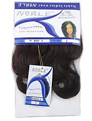 Недорогие -Волнистый Уход за волосами Аксессуары для костюмов Волосы Уток с закрытием Нейтральный Искусственные волосы косы Волосы для кос 1 пару × 2