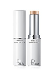 cheap -Single Colored 1 pcs Matte Long Lasting / water-resistant / Brightening Foundation / Concealer / Highlighter # Simple / Classic Rotating / Easy to Carry / lasting Daily Wear / Date / Beginner Makeup
