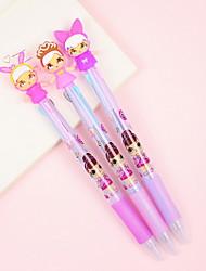 Недорогие -1 pcs 0.7 mm Шариковая ручка Multi-цветы ПВХ