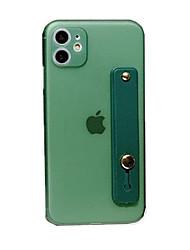 Недорогие -чехол для карты яблока сцены iphone 11 x xs xr xs макс 8 чистый цвет матовый тпу материал все включено подставка чехол для телефона