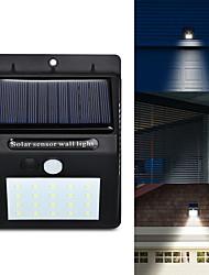Недорогие -LED солнечная энергия pir датчик движения настенный светильник 20 светодиодный открытый водонепроницаемый энергосберегающие улица двор путь домой сад безопасности лампы