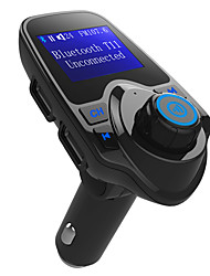 cheap -Hot Sale Bluetooth FM Transmitter Support TF Card U Disk Car Charger