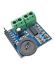 abordables -5v pam8403 3w * 2 module amplificateur audio double canal classe d puissance réglable