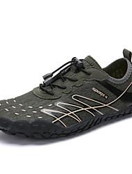 cheap -Men's Comfort Shoes PU Fall & Winter Athletic Shoes Hiking Shoes Black / Blue / Khaki