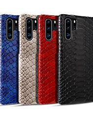 cheap -Phone Case For Huawei Back Cover Huawei P20 Huawei P20 Pro Huawei P30 Huawei P30 Pro Huawei Mate 20 pro Huawei Mate 20 Mate 30 Mate 30 Pro Card Holder Shockproof Ultra-thin Solid Color PC