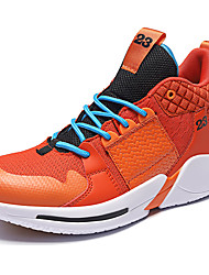 cheap -Men's Comfort Shoes Tissage Volant Spring & Summer / Fall & Winter Sporty Athletic Shoes Running Shoes / Basketball Shoes Non-slipping Color Block Black / White / Black / Red / White / Green