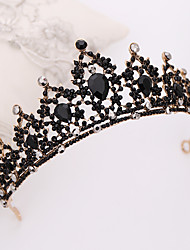 cheap -Alloy Hair Accessory with Rhinestone / Glitter 1 Piece Wedding Headpiece
