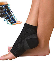 cheap -Ankle Brace for Running Basketball Soft Compression Eases pain Lycra® 2pcs