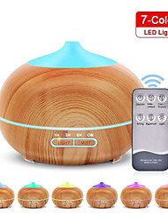 cheap -400ml Aroma Air Humidifier Essential Oil Diffuser BPA Free Wood Grain Cool Mist Humidifier Support Timer/ Auto Shut-OFF with Remote Control